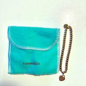 Authentic Return to Tiffany bead bracelet